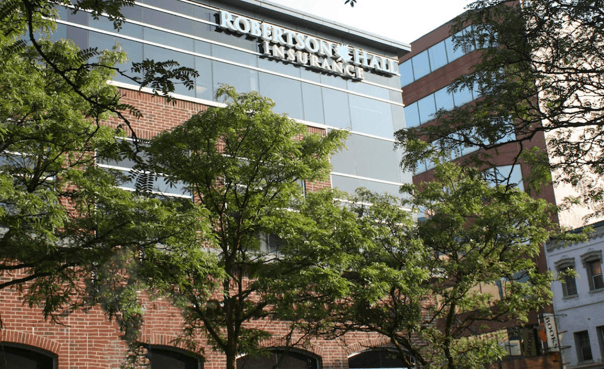 Robertson Hall head office